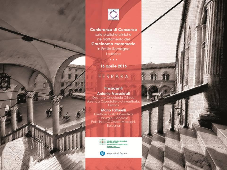 Conferenza di consenso sul Carcinoma Mammario